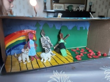 Autumn's prize winning entry in the Gala float designing competition